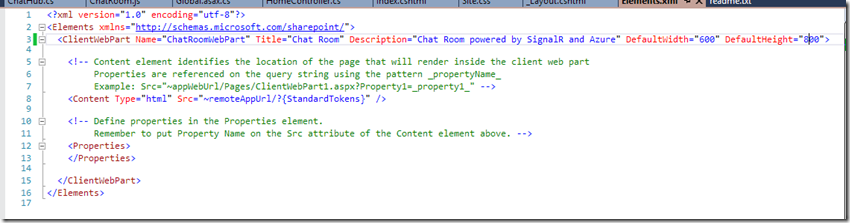 Building a SharePoint Online chat room with SignalR and Azure – Part