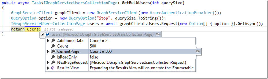 Intro to the Microsoft Graph  NET Client Library - Engineering and